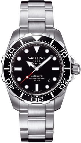 zegarek do nurkowania Certina